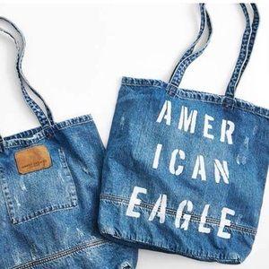 Jean American eagle tote